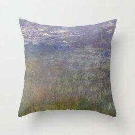 Monet, Water Lilies, 1915-1926 Throw Pillow