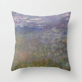 Monet, Water Lilies, 1915-1926 Throw Pillow