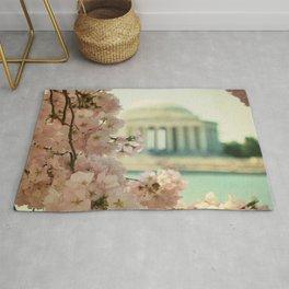 DC Cherry Blossoms Rug