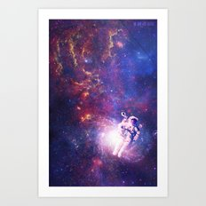 In The Center Of The Milky Way Art Print