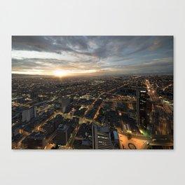Flat Bogota Canvas Print