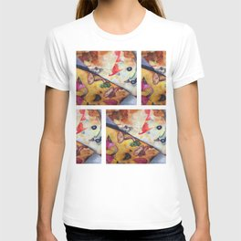 Pizza Lovemaking (LARGER SIZES) T-shirt