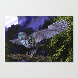 Sovereign of the Skies  Canvas Print