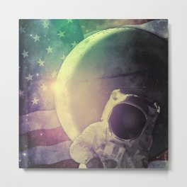 Adventure In Space Metal Print