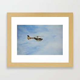Collier County Copter Framed Art Print