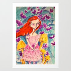 Finding Wonderland Art Print