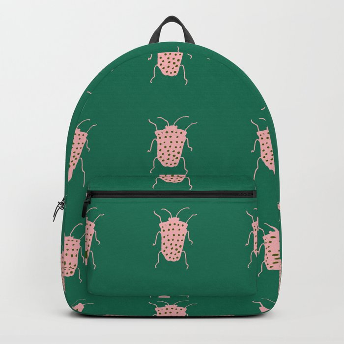 Beetle green Backpack