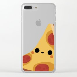 Want some pizza? Clear iPhone Case