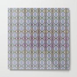 Wallpaper Inspirations - Sparkling Blues Metal Print