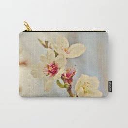 Almond Blossoms in the Wind Carry-All Pouch