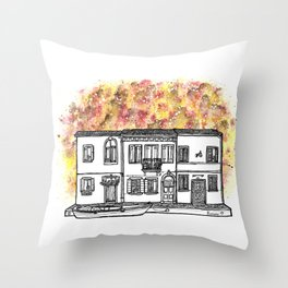 Splash | Burano Throw Pillow