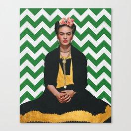 Frida Kahlo Photography I Canvas Print