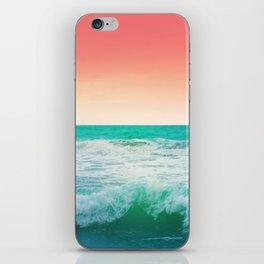 Aqua and Coral, 3 iPhone Skin