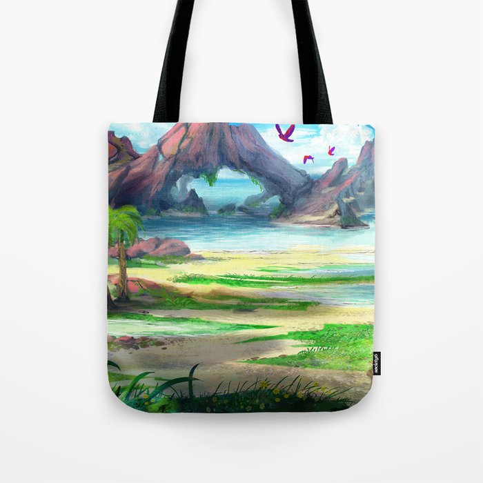 Paradise Beach Tote Bag