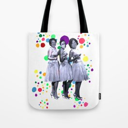 The Supremes: RBG, Sonia Sotomayor and Elena Kagan Tote Bag