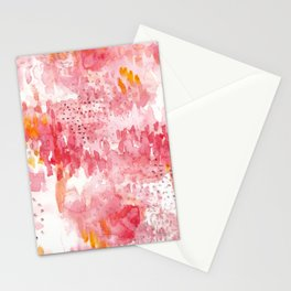 Fields of flowers Stationery Cards