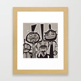 The Gents Framed Art Print