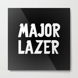 Major Lazer Metal Print