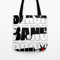 SLASH BANG BOOM! Tote Bag
