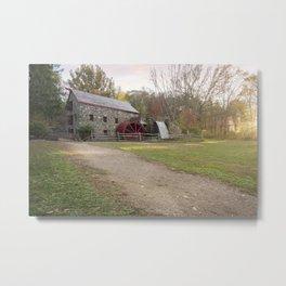 Wayside Inn Mill Metal Print