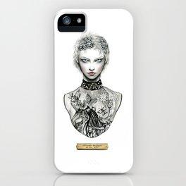 Alexander McQueen Bust iPhone Case
