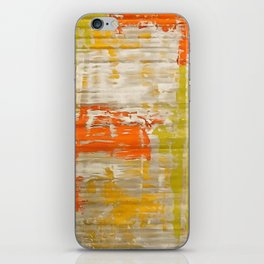 A Splash Of Citrus Grunge Abstract iPhone Skin