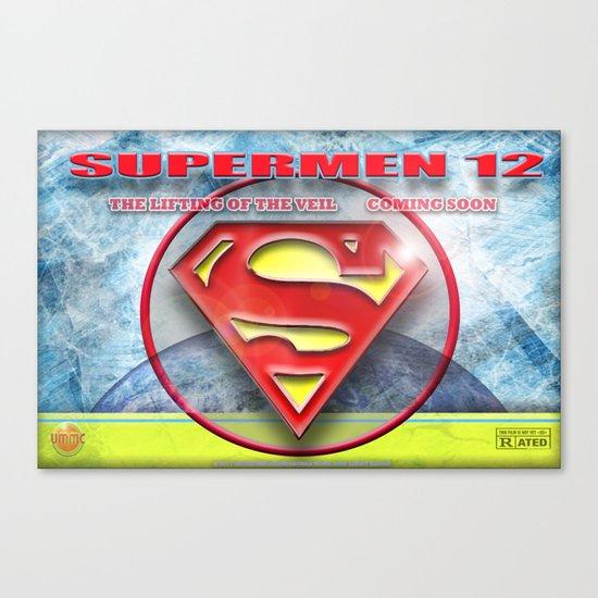 Supermen 12 The Lifting of the veil Canvas Print