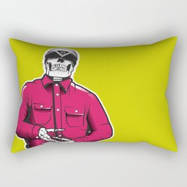 Vato Loco Skull Rectangular Pillow