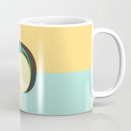 Tropical Fruit. Apple Half Slice Coffee Mug