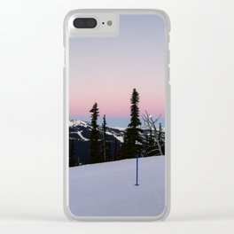 Early morning serenity Clear iPhone Case