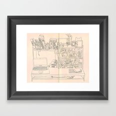Workplace Framed Art Print