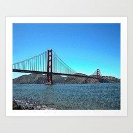 San Francisco Golden Gate Art Print