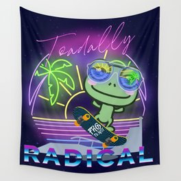 Toadally Rad Wall Tapestry