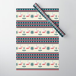 Let's Go Sailing Wrapping Paper