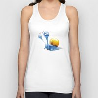 snail Tank Tops featuring snail by Antracit
