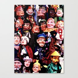 Puppetry Canvas Print