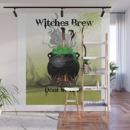 Witches Brew Ha Ha Wall Mural