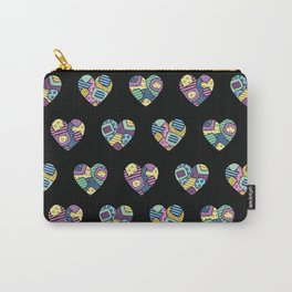 patchwork hearts Carry-All Pouch