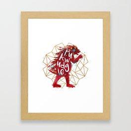 Pukwudgie Framed Art Print