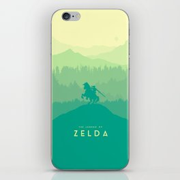 Warrior - The Legend of Zelda iPhone Skin