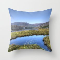 Ogwen's Pond Throw Pillow