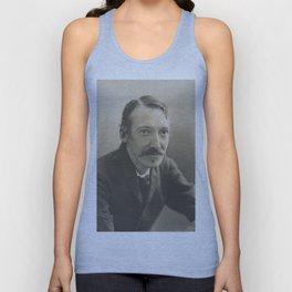 Vintage Robert Louis Stevenson Photo Portrait Unisex Tank Top