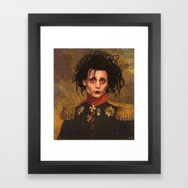 Edward Scissor Hands General Portrait Framed Art Print
