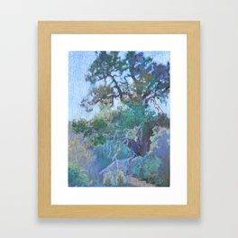 Ephemeral Light Framed Art Print