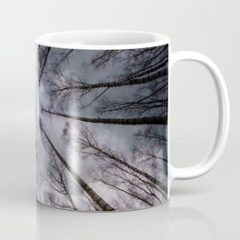 Above us only.... clouds Coffee Mug