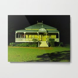 Wynnum Shire Clerk's Cottage Metal Print