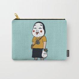 Joyful Girl Carry-All Pouch