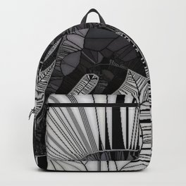 Staffordshire Bull Terrier Mosaic Backpack