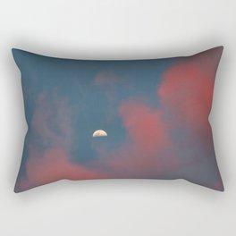 Cloud Bleeding Mars for Moon Rectangular Pillow