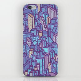 night city iPhone Skin